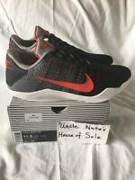 Nike Kobe XI 11 Elite Low 'Tinker Hatfield', Size 11.5, DS