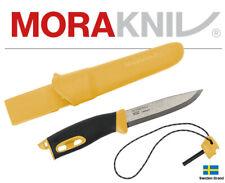 Morakniv Fixed Blade Knife Companion Spark Fire Rod Handle With Sheath 02400