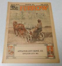 1924 The Furrow farm magazine Vol. 29 #4 Appleton City Hardware Co. Missouri