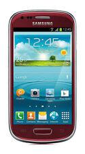 Samsung  Galaxy S III mini GT-I8190 - 8GB - Garnet Red (Ohne Simlock) Smartphone
