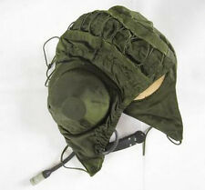 Surplus Chinese PLA Summer pilot Hat Cap With Microphone Nylon ONE SIZE-M006