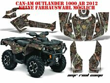 AMR RACING DEKOR GRAPHIC KIT ATV CAN-AM OUTLANDER STD & XMR MAX AMR REAL CAMO B
