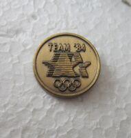 1984 LOS ANGELES  OLYMPICS OFFICIAL LOGO PIN BADGE