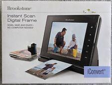 Brookstone iConvert Instant Scan Digital Frame