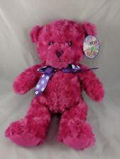 """First & Main Sorbet Bear Plush Pink 14"""" 1438"""