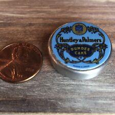 Dollhouse miniature food 1:12 Replica Vintage Dundee Cake Tin /empty