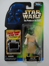 1997 Star Wars POTF Ishi Tib With Rifle Freeze Frame Action Slide Action Figure