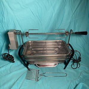 Vintage Farberware Open Hearth Broiler Rotisserie Electric Grill