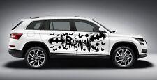 BATMAN LOGOS DESIGN DECAL VINYL GRAPHIC SIDE CAR TRUCK