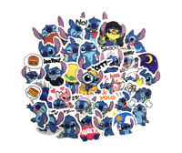 50Pcs/Set Classics Lilo Stitch Cute Cartoon Stickers Scrapbooking Stickers For
