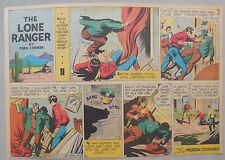 Lone Ranger Sunday Page by Fran Striker and Charles Flanders from 7/4/1943