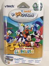 V.Smile VTech - V - Motion: Mickey Mouse Clubhouse Learning Game Numbers Letters