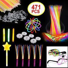 Glow Sticks 471pcs Mega Party Pack Bracelet Necklace Birthday Christmas
