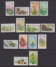 Falkland Islands 1968 Mint MLH Full Set Definitives Flowers Decimal 14 Values