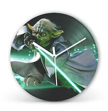 "Star Wars Yoda 12"" LP Vinyl Record Clock Christmas Gift Present cl12"