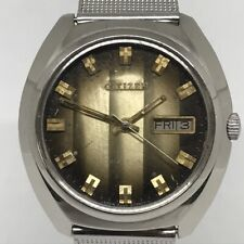 CITIZEN  Vintage 100% 37mm 8200A 21JAuto+H/Wind. DD in EX' Cond.' V Collectible.