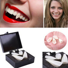 4pcs Cool Zombie Vampire Teeth Ghost Devil Fangs Halloween Props Costume Party