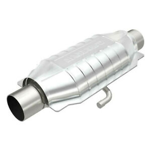 """2.5"""" Catalytic Converter MagnaFlow for Ford Dodge 12"""" Body CA CARB Universal SS"""