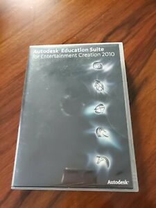 Autodesk Education Suite for Entertainment Creation 2010 w/ Serial & Product Key