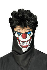 Masken Tuch, Maskentuch Horror Clown  Halloween z. Kostüm