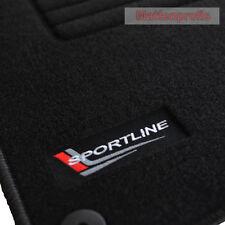 Mattenprofis Velours Fußmatten Edition für Audi A4 8E B6 B7 Avant Bj.2000 - 2008