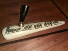 Alaskan Antique Pen Holder Polished