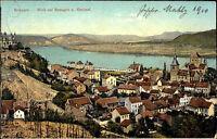 REMAGEN Rhein AK Dt Reich 1909 Gesamtansicht Teilansicht alte color Postkarte