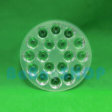 30 degree PMMA Lens for 18W 54W LED Lamp Light Ceiling Spotlight Bulb 110mm