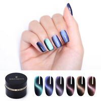BORN PRETTY Nagel Gellack Magnetisch 5D Cat Eye UV Gel Polish Black Base Needed