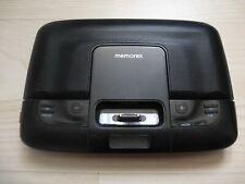 MEMOREX MI 2290 TRAVEL SPEAKER SYSTEM BLACK FOR IPOD/IPHONE