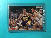 EDDIE JONES 1994-95 STADIUM CLUB ROOKIE DRAFT PICK CARD #240 LAKERS