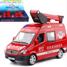 1:32 Alloy Diecast Rescue Metal Car Model Pull Back Sound Light Kids Car Toy