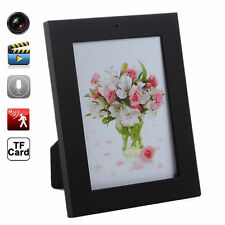 Home Black Picture Frame Spy Security Camera Hidden Motion Detection Camcorder