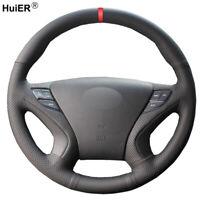 Hand Sewing Car Steering Wheel Cover For Hyundai Sonata 8 2011 2012 2013 2014