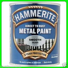Hammerite Metal Paint Smooth Silver 750ml [5092808]