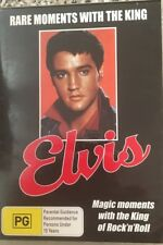ELVIS  RARE MOMENTS WITH THE KING DVD