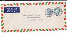 IRELAND LONG ENVELOPE 1946 TO USA FROM GAELTARRA EIREANN OF DUBLIN