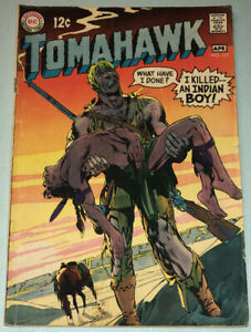 Tomahawk #121 VG 1969 DC Comic Book Silver Age Western Neal Adams Cover