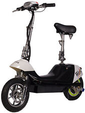X-Treme City Rider 36V Electric Scooter With E-Bike Quiet Hub Motor Black New
