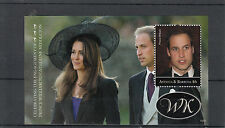 Antigua & Barbuda 2010 MNH Royal Engagement 1v S/S II Prince William Kate