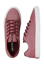 Supra Assault Burgundy/White Men's Shoes Low Sneakers Size 11