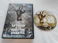LA TIERRA DE LOS MUERTOS VIVIENTES DVD GEORGE ROMERO TERROR ESPAÑOL ENGLISH