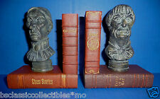 Disney Parks The Haunted Mansion Bust Bookends Set of 2 (45th Anniversary) New!!