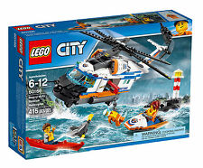 60166 LEGO City Coast Guard Heavy-duty Rescue Helicopter 415 Pieces ND