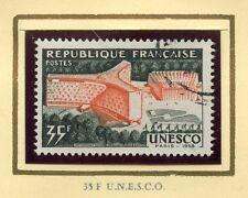 TIMBRE FRANCE OBLITERE N° 1178 INAUGURATION DU PALAIS DE L'U.N.E.S.C.O. A PARIS
