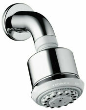 Hansgrohe Clubmaster Overhead Shower with Shower Arm 3-Spray Pattern 27475000