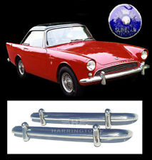 ON SALE-Sunbeam Alpine S1 S2 S3 and Sunbeam Tiger Stainless Steel Bumpers