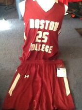 under armour mens boston college basketball uniform