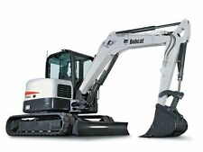 BOBCAT E60 Compact Excavator Service & Operator's Manual CD