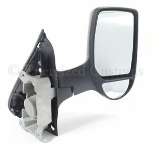 Ford Transit Van Mk7 2006-2014 Manual Short Arm Wing Door Mirror Drivers Side